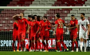 Benfica goleia Vilafranquense e apura-se para oitavos de final da Taça