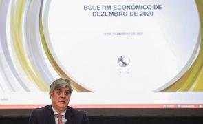 Covid-19: Centeno espera melhor reação da economia a eventual terceira vaga