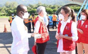Letizia Já está nas Honduras para prestar serviço humanitário [Fotos]