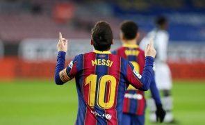 «Salário de Messi é insustentável», diz candidato à presidência do Barcelona