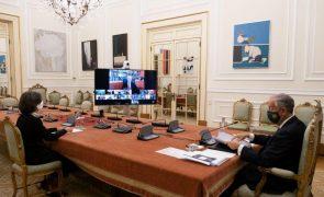 UE/Presidência: Conselho de Estado aponta vacinação contra a covid-19 e política externa como prioridades