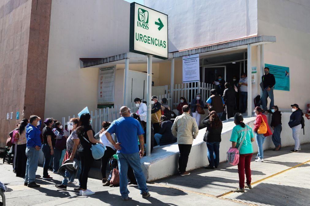 Covid-19: México com 801 mortos e mais de 11 mil casos em 24 horas