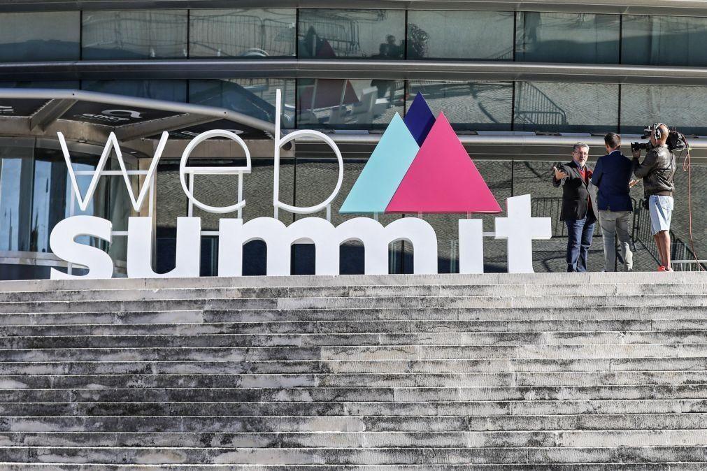 Web Summit: Retorno foi inferior ao que podia ter sido com evento híbrido -- Governo