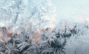 Meteorologia: Formação de gelo e descida da temperatura para hoje