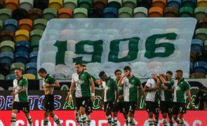 Sporting defende liderança da I Liga e procura pressionar Benfica e FC Porto