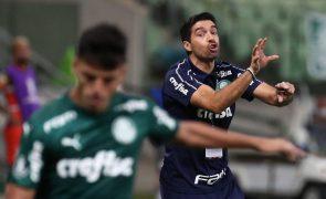 Abel Ferreira diz que Palmeiras é a melhor equipa que já treinou