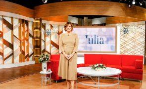 Júlia Pinheiro substituída à última hora após sofrer