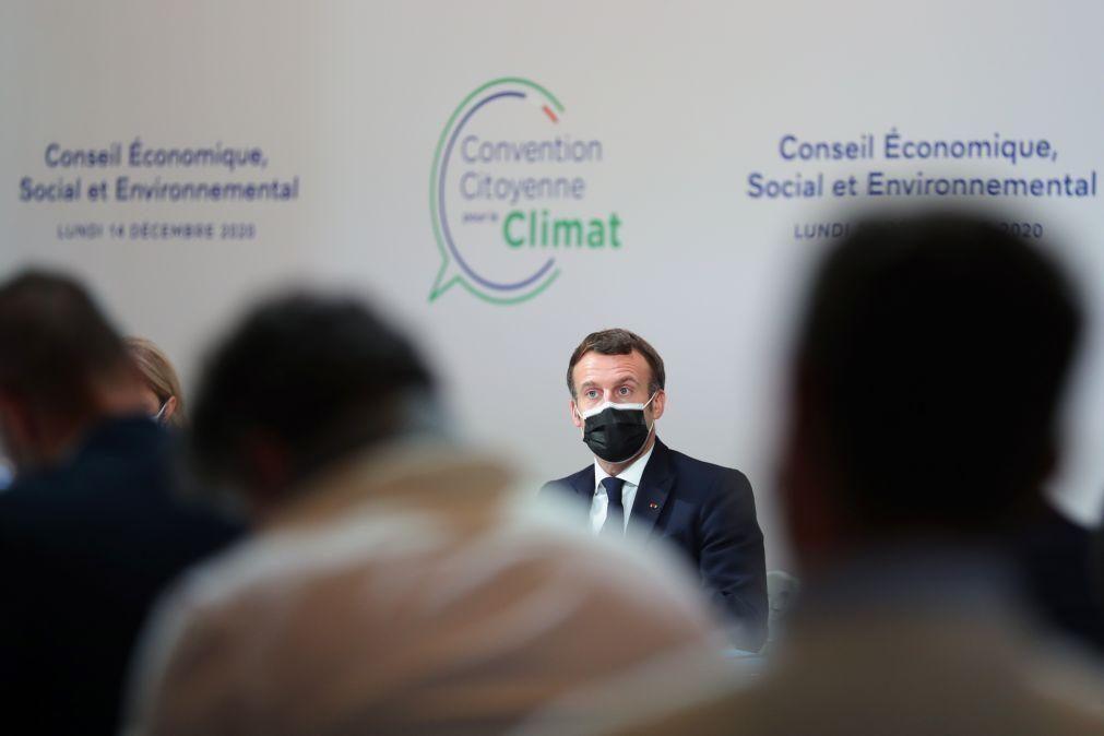 UE/Presidência: Macron congratula Portugal pela realização da Cimeira Social