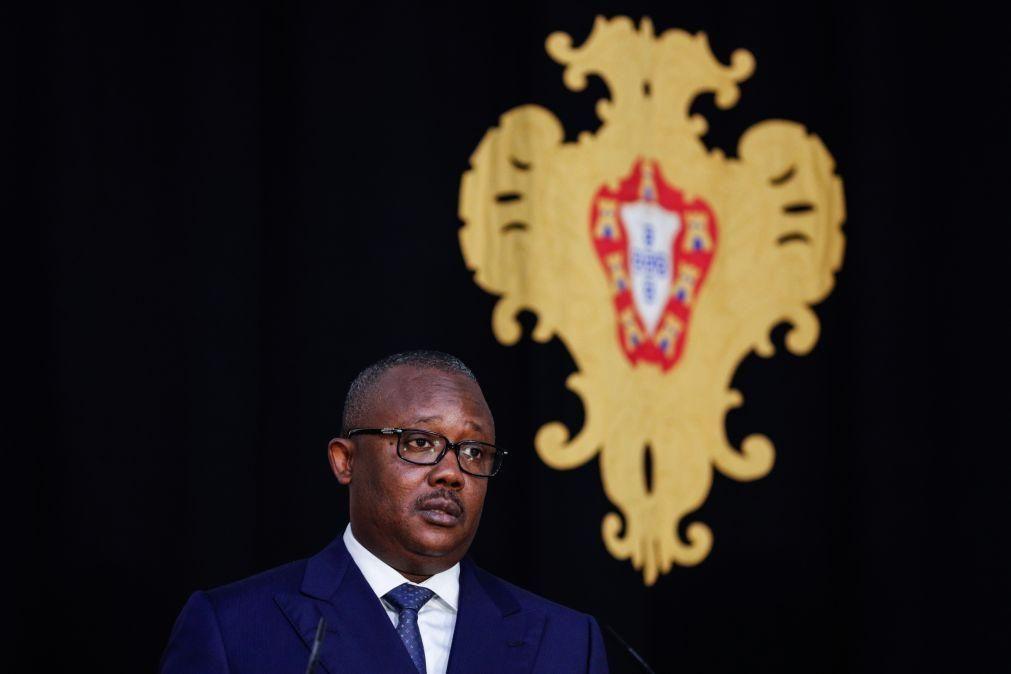 PR da Guiné-Bissau afirma que dissolução do parlamento está em cima da mesa