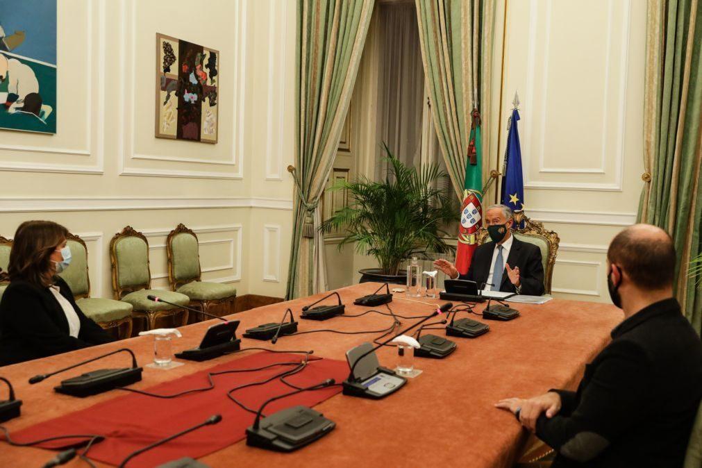 Covid-19: Governo deu parecer favorável ao decreto do PR que renova estado de emergência