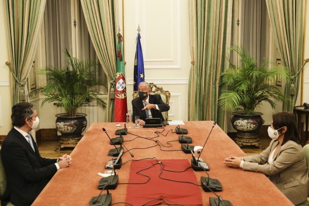 Marcelo propõe renovação do estado de emergência até 7 de janeiro