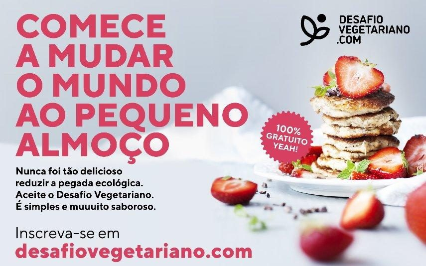Alimentação vegetariana Desafio Vegetariano convida portugueses a experimentarem uma alimentação de base vegetal durante janeiro