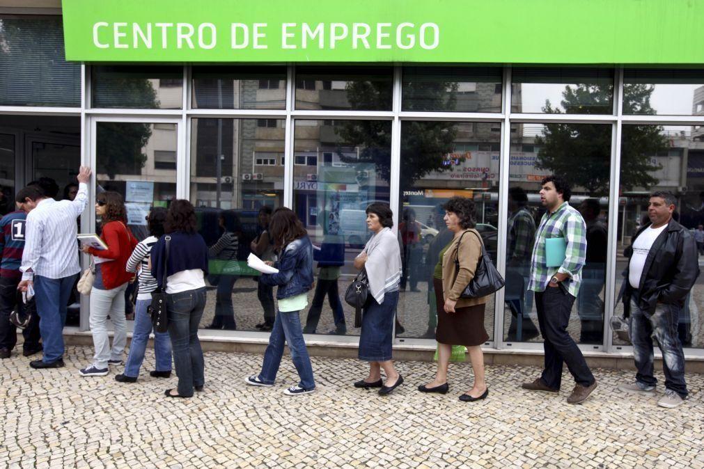 Número de desempregados inscritos nos centros de emprego sobe 30,2% em novembro