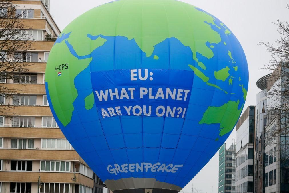 Ministros do Ambiente da UE aprovam corte de 55% das emissões até 2030