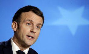 Covid-19: Infeção de Macron motiva quarentenas de cinco líderes europeus