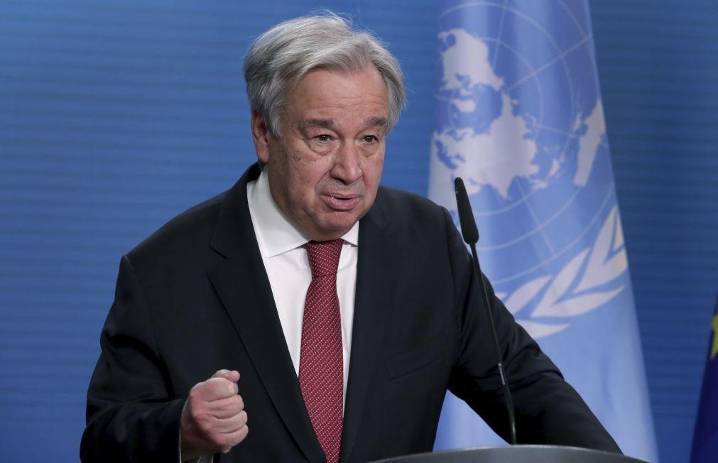 Covid-19: Guterres apela a países ricos para apoiarem os pobres com vacinas