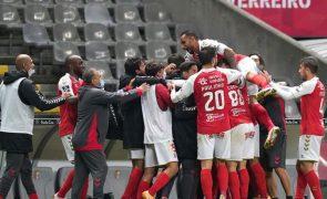 Sporting de Braga bate o Santa Clara e está nas 'meias' da Taça de Portugal [vídeos]