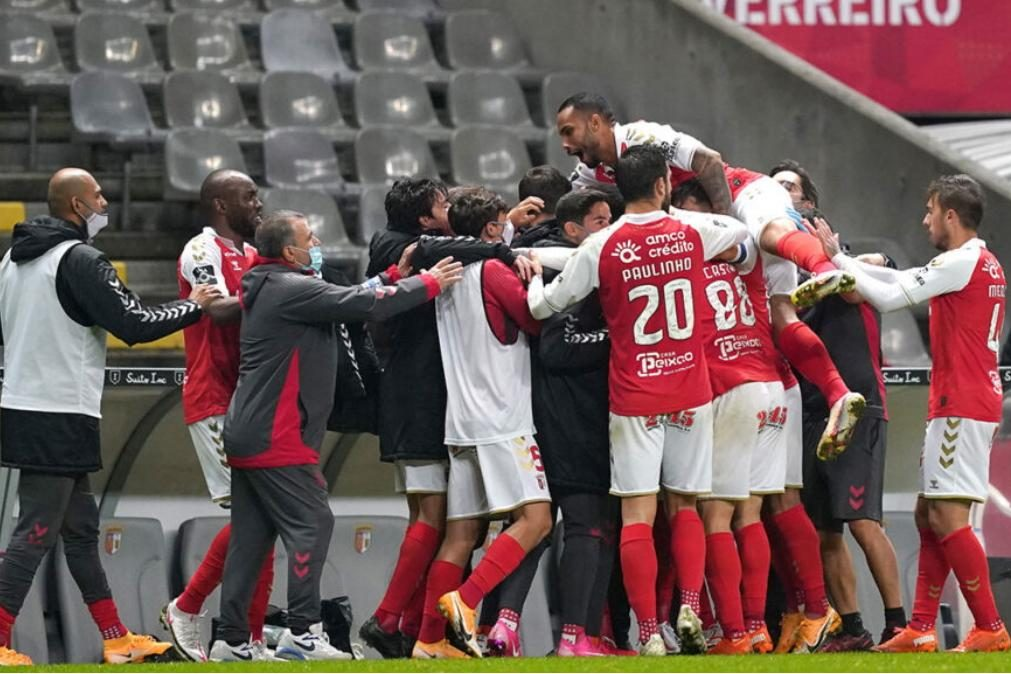 Sporting de Braga na final-four da Taça da Liga com hat-trick de  Paulinho [veja os golos]