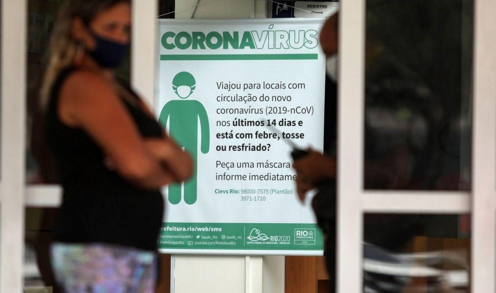 Covid-19: Brasil regista 184.827 óbitos e mais de 7,1 milhões de infeções