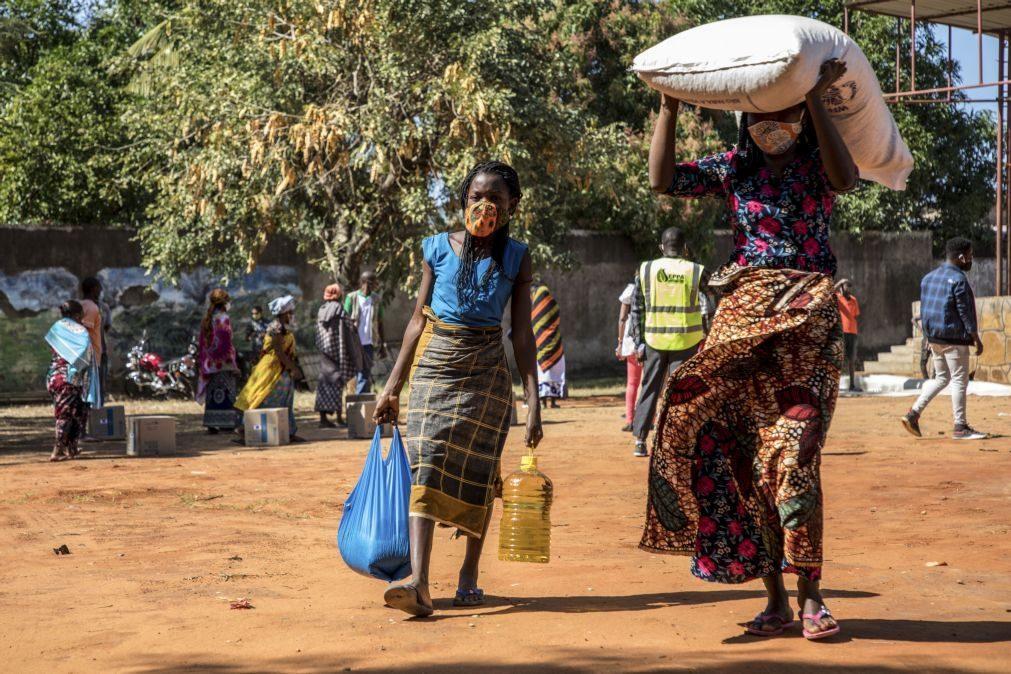 Moçambique/Ataques: FAO presta assistência a 20 mil famílias deslocadas em Cabo Delgado