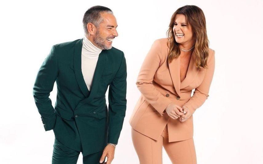 Cláudio Ramos e Maria Botelho Moniz As primeiras imagens do novo programa das manhãs da TVI