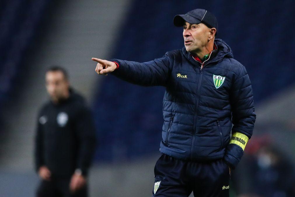 Treinador Pako Ayestarán quer Tondela ao melhor nível frente ao Moreirense