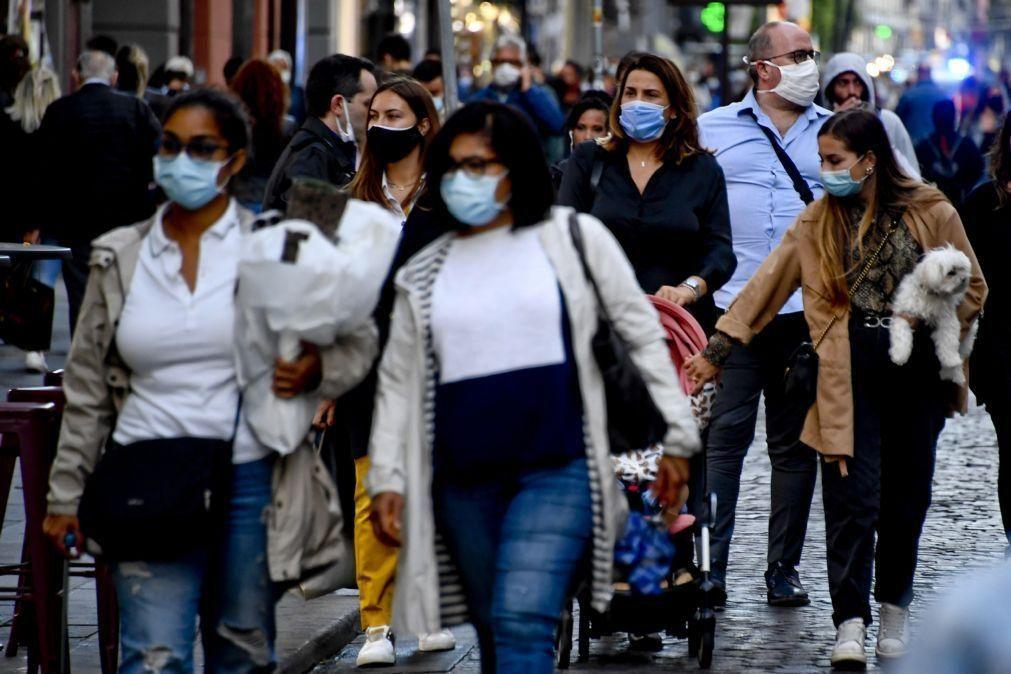 Covid-19: Itália com quase 18.000 novos casos e 674 óbitos