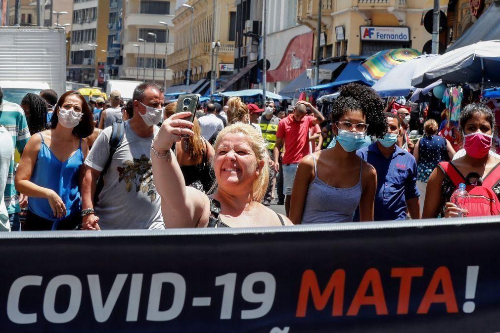 Covid-19: Ministro defende vacinação em massa para retoma da economia do Brasil