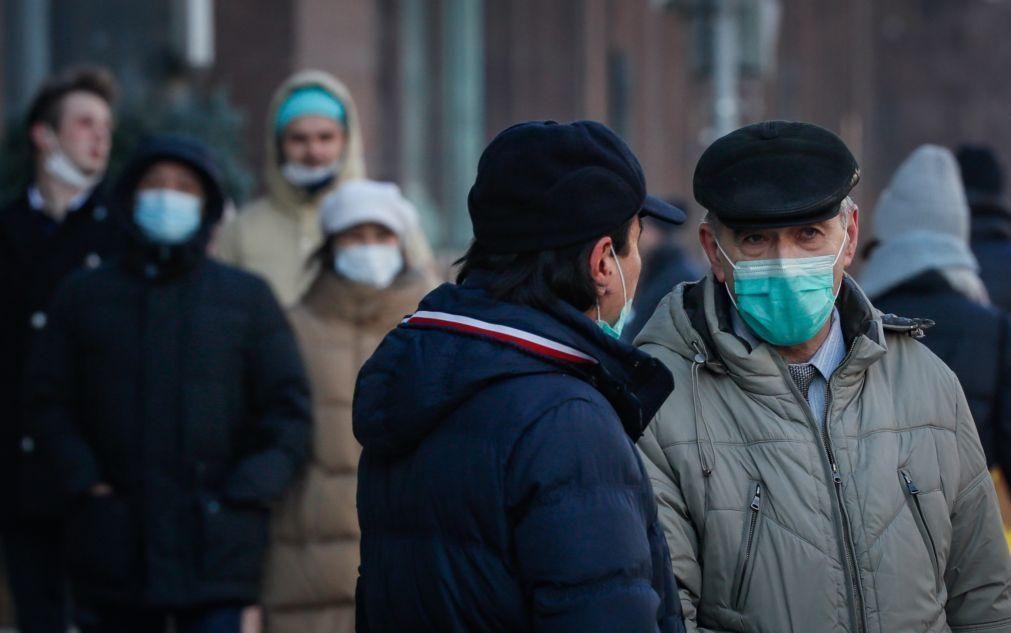 Covid-19: Rússia ultrapassa 2,8 milhões de infetados e 50 mil óbitos