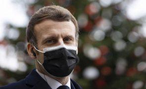 Covid-19: Saúde de Macron é