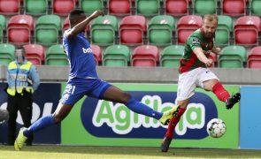 Marítimo bate Belenenses SAD com golo de Joel Tagueu nos descontos