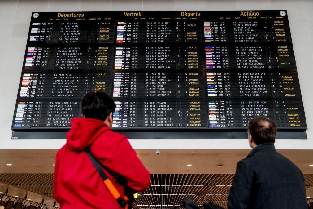 Covid-19: Bélgica suspende voos e comboios oriundos do Reino Unido