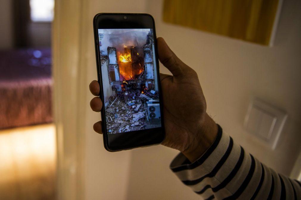 Incêndio apenas causou danos materiais no Hospital de Santa Marta