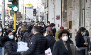 Covid-19: Italia regista 352 mortes nas últimas 24 horas