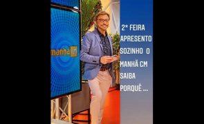Duarte Siopa Sozinho nas manhãs da CMTV