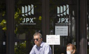 Bolsa de Tóquio abre sem oscilações