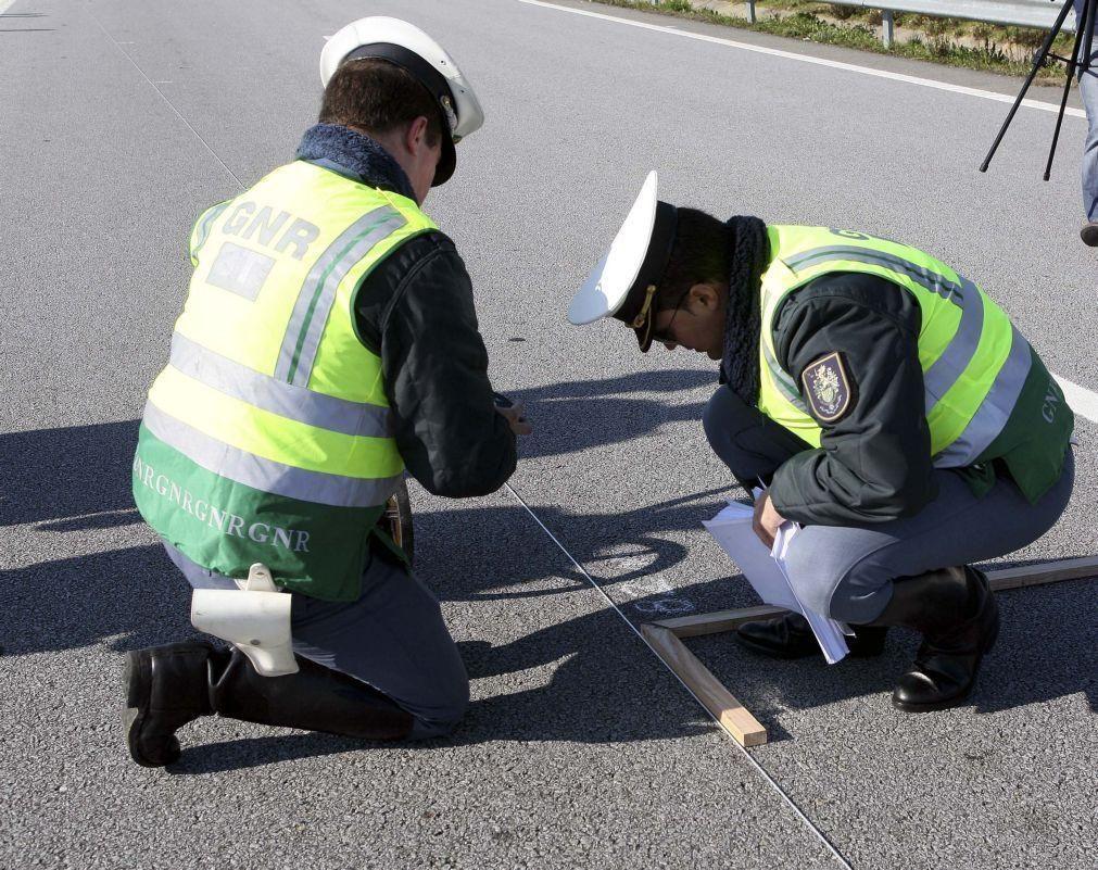 Mais de 620 pessoas morreram nos 35.704 acidentes nas estradas portuguesas em 2019