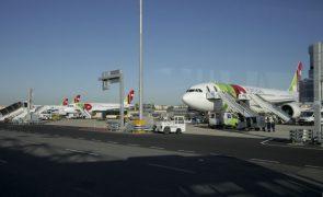 TAP reduz capacidade em 71% e número de voos em 72% em novembro