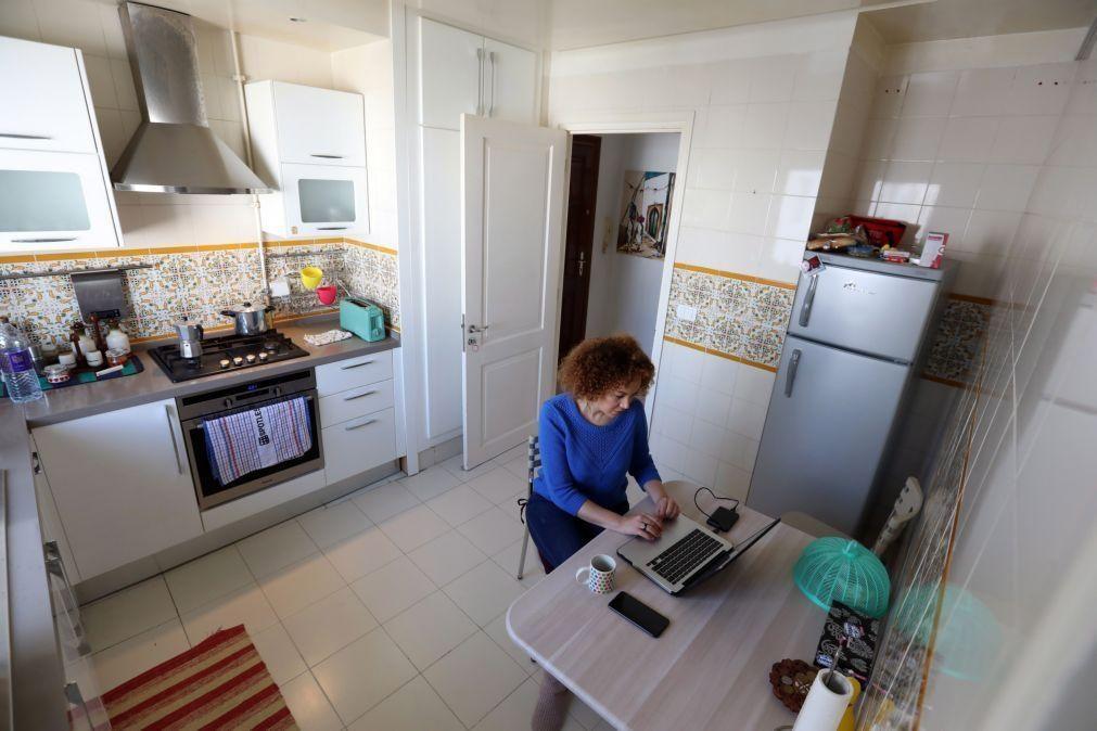 Maioria dos portugueses gostava de manter teletrabalho, segundo um estudo