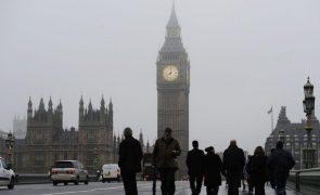 Covid-19: Reino Unido ultrapassou dois milhões de infeções