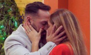 André Abrantes pede Zena em casamento em direto