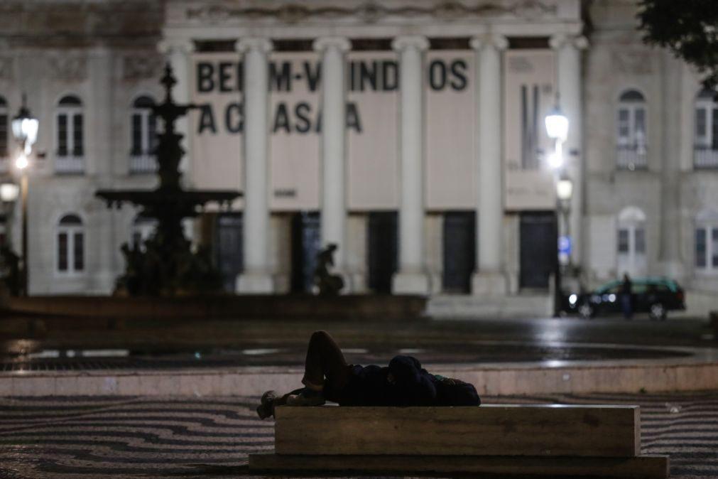Mais de 350 pessoas estão a viver na rua em Lisboa