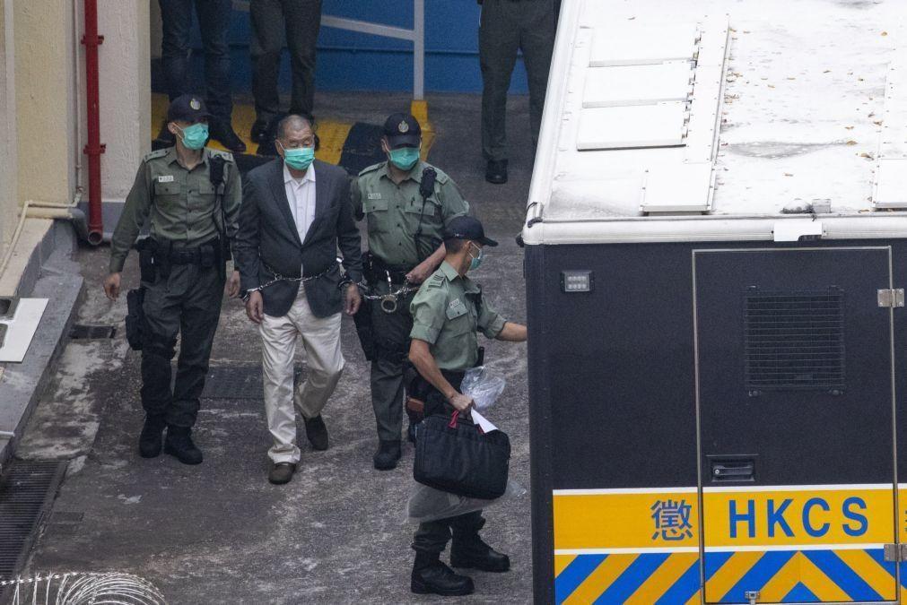 Tribunal de Hong Kong liberta sob caução empresário Jimmy Lai