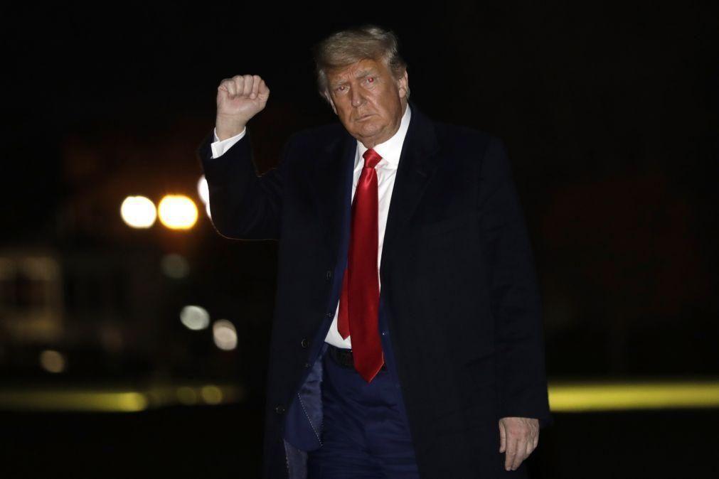 Trump veta e devolve ao Congresso diploma sobre o orçamento do Pentágono