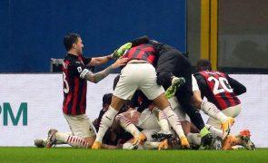 AC Milan vence Lazio nos descontos e reassume liderança em Itália