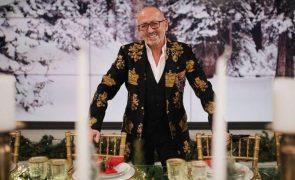Manuel Luís Goucha veste casaco de Angélico Vieira e explica por que o faz no Natal