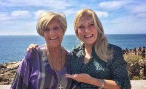 Emissão especial de Big Brother impede Teresa Guilherme de passar consoada com a mãe