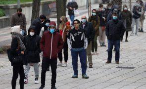 Covid-19: Espanha regista mais 126 mortes e 12.662 novos casos