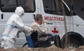 Covid-19: Rússia com 563 mortos e mais de 29 mil casos nas últimas 24 horas