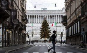 Covid-19: Itália regista 459 mortos e 19.037 novos casos nas últimas 24 horas